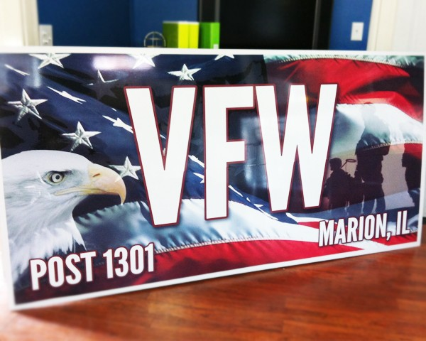 Vfw Post 1301 Printing Solutions In Marion Il Vehicle